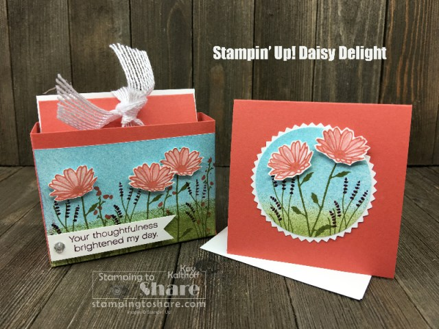 Stampin' Up! Daisy Delight and 3x3 Cards