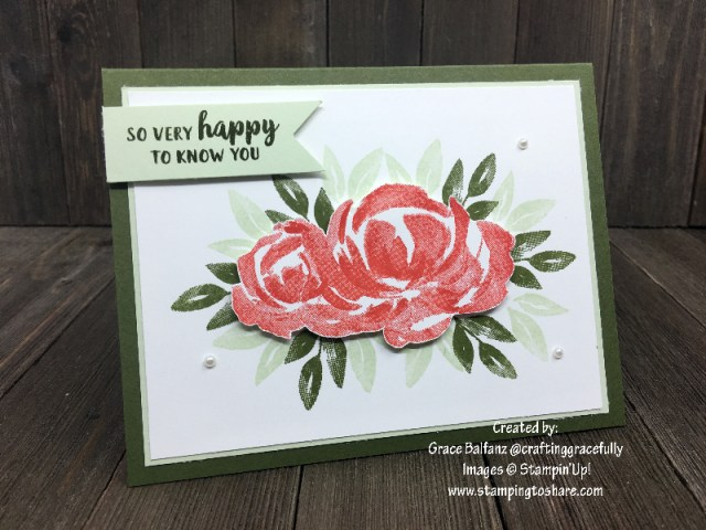 Stampin' Up! Beautiful Friendship by Grace Balfanz