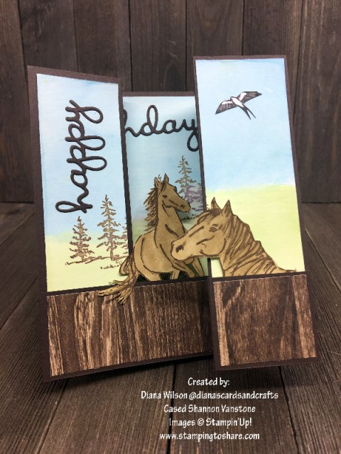 Stampin' Up! Let It Ride by Diana Wilson Part One