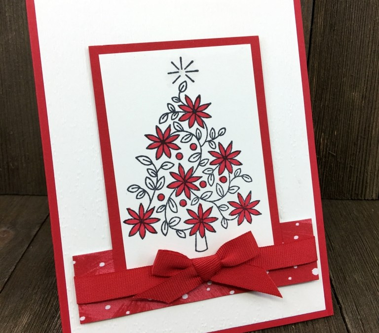 Creative Crafters November Demo Meeting Swaps: Christmas Cards