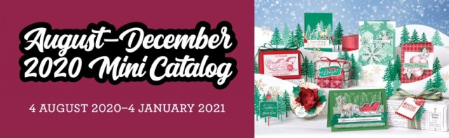 Stampin' Up! August 2020 Mini Catalog