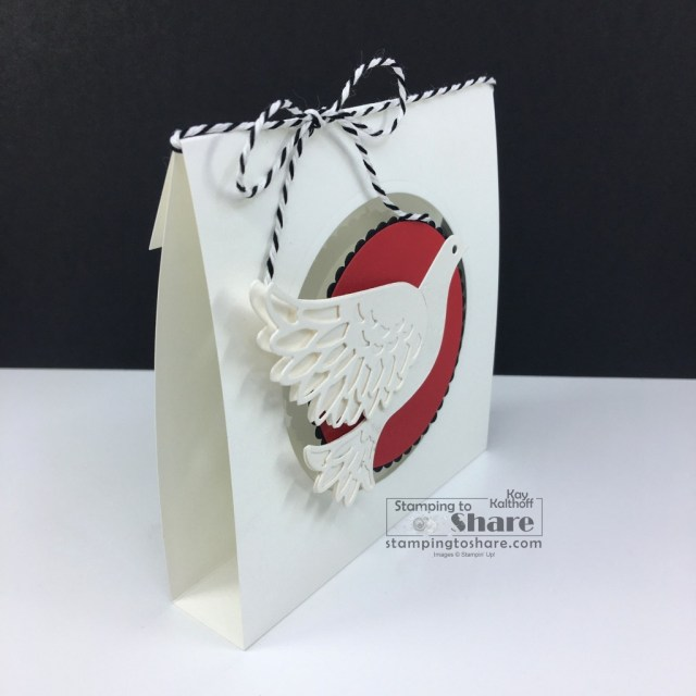 Dove of Hope Bundle from Stampin' Up! for Christmas Gift Card Holders and Christmas Cookie Treat Holders created by Kay Kalthoff with Stamping to Share.