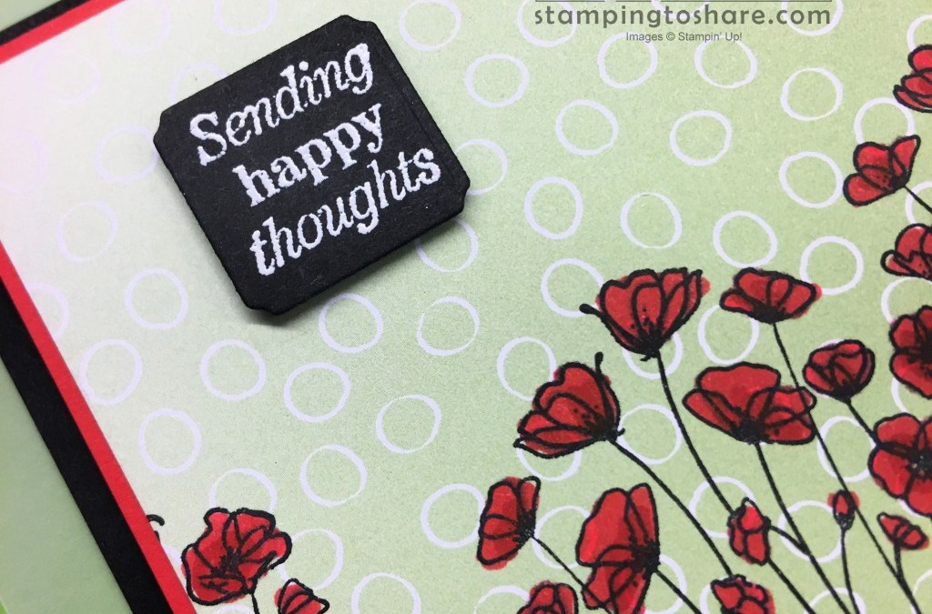 Many Messages Bundle with Painted Poppies