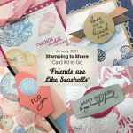 Stamping to Share Card Kit to Go for January 2021 Friends are Like Seashells