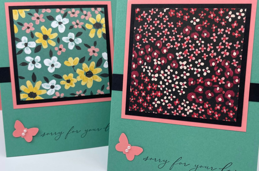 Heal Your Heart for Easy, Elegant Sympathy Cards