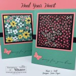 Heal Your Heart Sympathy Card with Flower & Field Designer Series Paper from Stampin