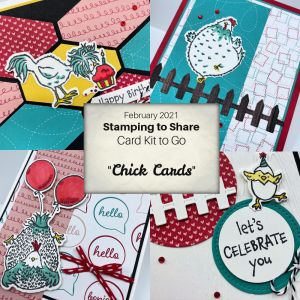 February 2021 Chick Camp Card Kits to Go!