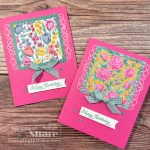 Posted for You Birthday Card with Flowers for Every Season 6x6 DSP by Kay Kalthoff with Stampin