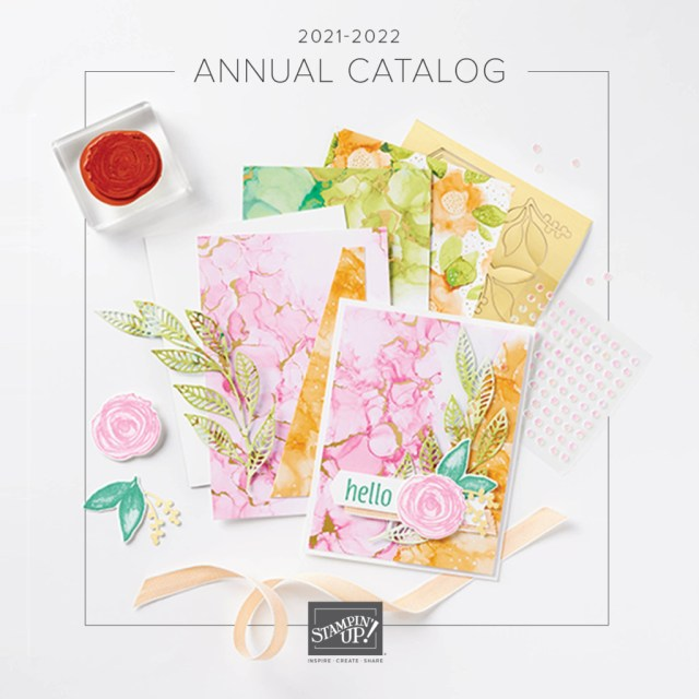 2021-2022 Stampin' Up! Catalog Cover
