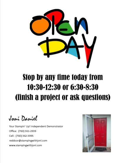 open time