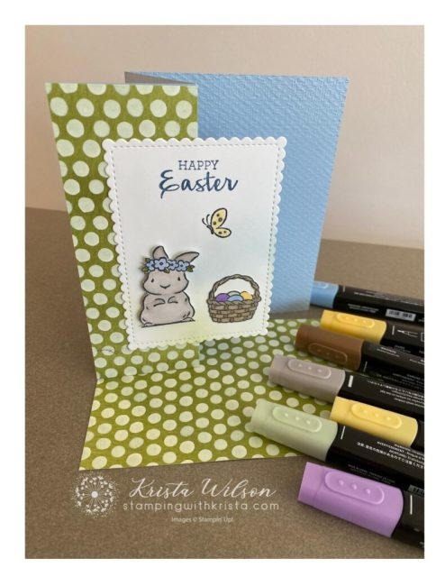 Stampin' Blend colors are used for this card.