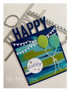 """Unique """"So Much Happy"""" Happy Birthday Card"""