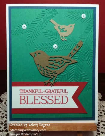 Blessed Birds & Pine Boughs