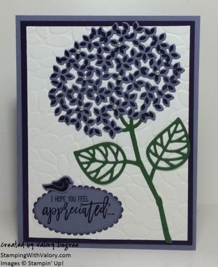 Purple Pearl Hydrangea