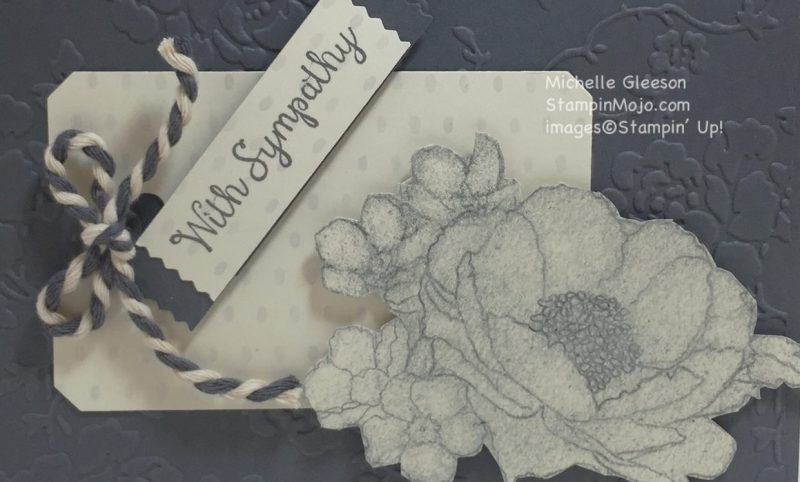StampinMojo, Sympathy card, Timeless Elegance, PPA 296