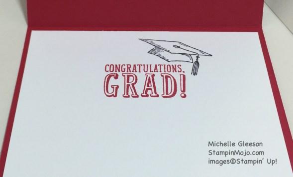 StampinMojo, graduation card