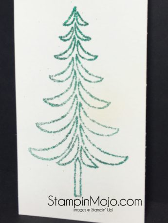 Stampin Up Emerald Envy Emboss Powder Techique Michelle Gleeson
