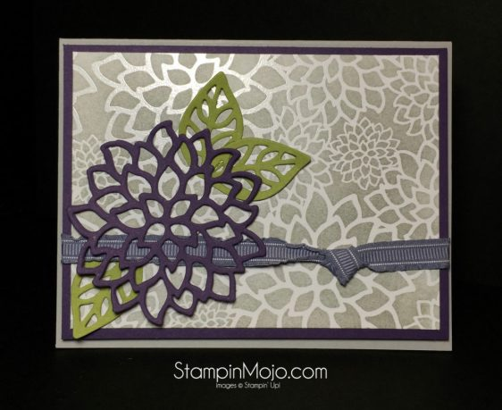 Stampin Up Pals Blog Hop - Michelle Gleeson Irresistibly Floral DSP stampinup