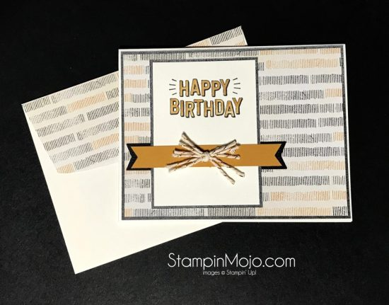 Stampin Up Confetti Celebration Birthday card idea Michelle Gleeson Stampinup SU
