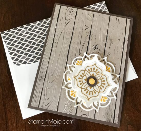 Stampin Up Eastern Beauty Bundle Pinewood Planks TTTC002 Masculine card Michelle Gleeson Stampinup SU