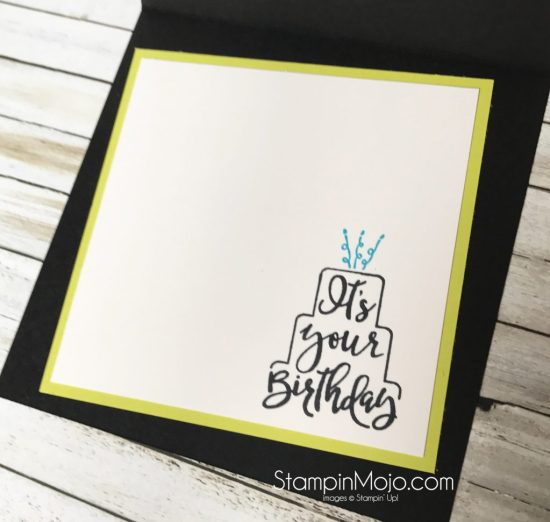 Stampin Up Celebration Time FMS297 Birthday card Michelle Gleeson Stampinup SI