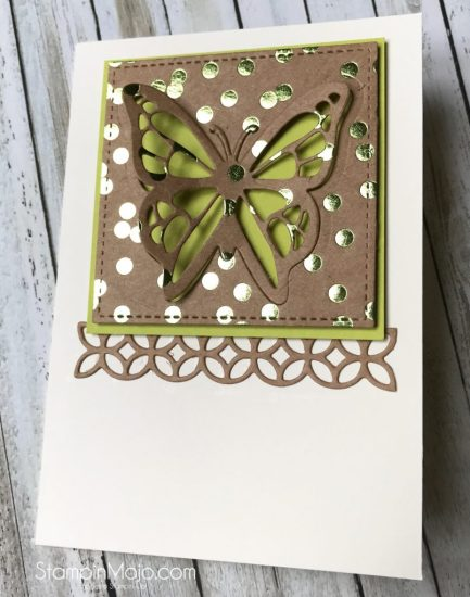 Stampin Up Foil Frenzy You Move Me Flourish Thinlits Michelle Gleeson Stampinup SU