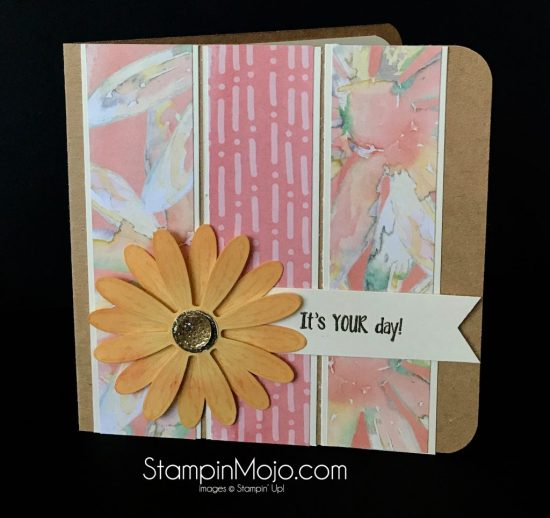 Stampin Up Pals Blog Hop Delightful Daisy DSP Daisy Delight Bundle Birthday Card Ideas Michelle Gleeson Stampinup SU