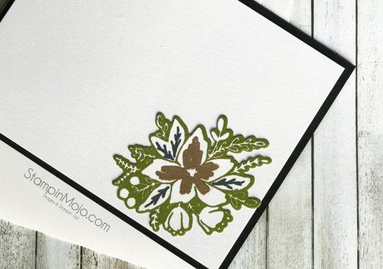 Concordand9th Blooms Fill In GDP109 Celebration card idea inside peek Michelle Gleeson