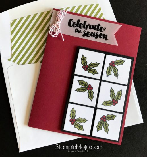 Stampin Up Tags & Trimmings Concord & 9th Ornamental Stamp GDP#114 Michelle Gleeson