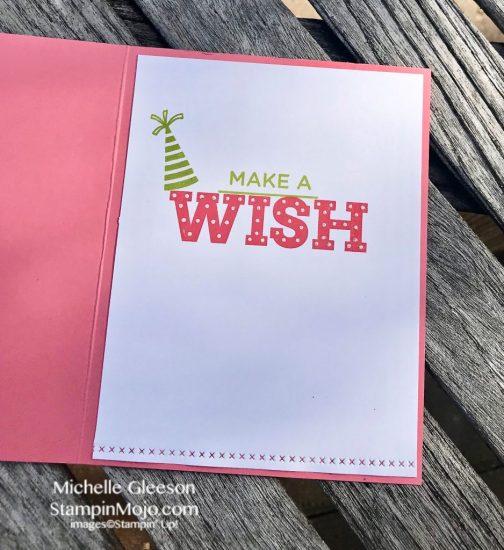Stampin Up Stitched All Around Broadway Birthday Birthday Card Ideas Michelle Gleeson Stampinup SU