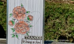 Karin Markers Neat&Tangled Grateful Heart Thank you card ideas Michelle Gleeson