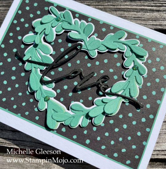 The Greetery Nature Lover's Collection Michelle Gleeson Love card idea