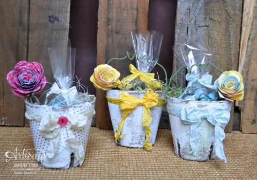 Mar FB - Easter Flower Peat Pots