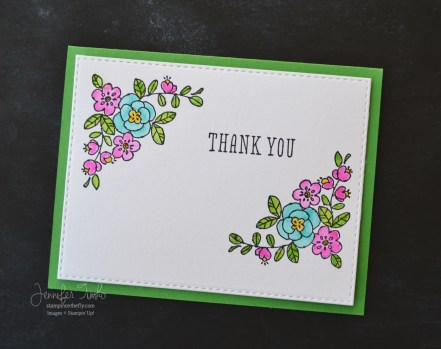 Jen Timko - A colorful thank you