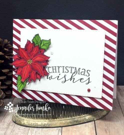 Jen Timko - FMS264 - Christmas Poinsettia