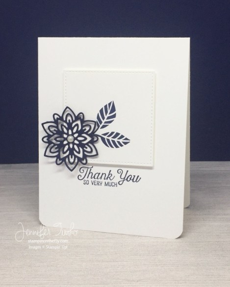 FF Mar Flourish Basic by Jen Timko | Flourishing Phrases and Flourish Thinlits by Stampin' Up