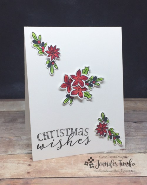 FMS298 by Jen Timko | Be Merry Stamp Set and Dies by WPlus9, Copic Coloring