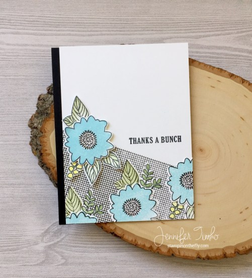 Thanks a Bunch by Jen Timko | Posie Fill In Stamps and Dies by Concord and 9th, C9