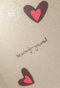 Stampin up absolutely fabulous heart to heart