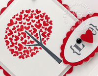Stampin up valentine defined occasions mini card