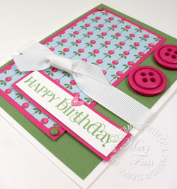 Stampin up blog curly cute sweet stitches