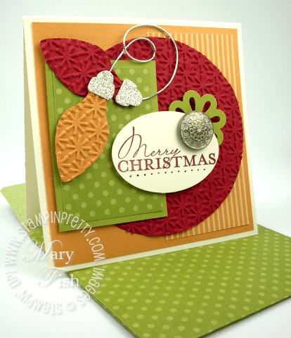 Stampin up big shot holiday stocking accents bigz die card punch