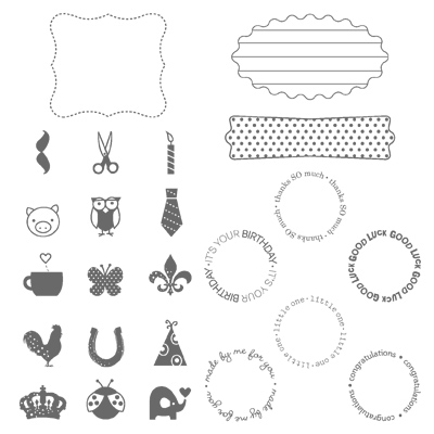 Fitting occasion a rubber stamps stampin up