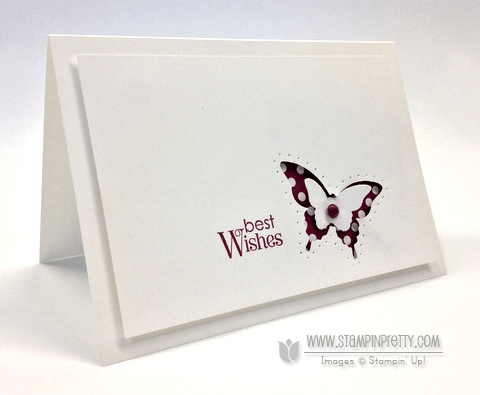 Stampin up demonstrator video tutorials stampinup pretty order online butterfly punch spring catalogs