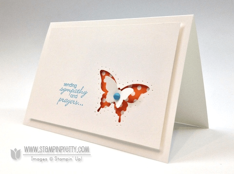 Stampin up demonstrator videos tutorial stampinup pretty order online butterfly punch spring catalog