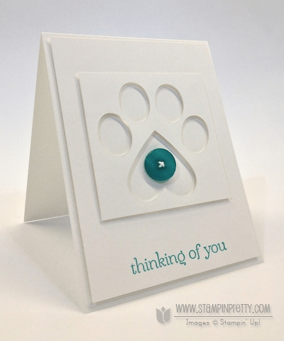 Stampin up stampinup pretty order online punch dog sympathy card ideas free catalog