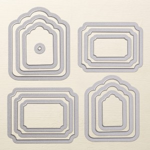 Tags & Labels Framelits Dies Stampin' Up! Catalog Favorites by Mary Fish, Stampin' Pretty Blog