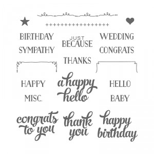 Tin of Cards Stampin' Up! Catalog Favorites by Mary Fish, Stampin' Pretty Blog
