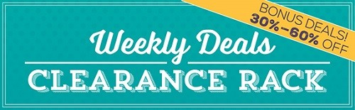 shop stampin up weekly deals discounts clearance rack