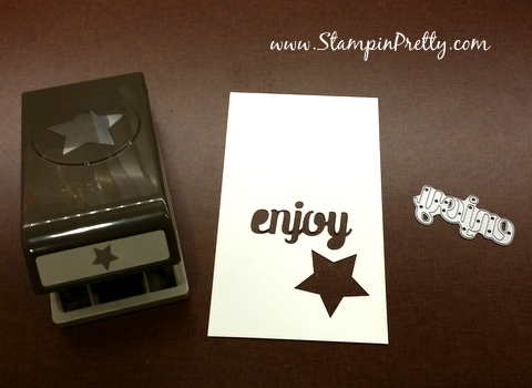 Stampin Up star punch birthday card idea Mary Fish StampinUp demonstrator blog Stampin Pretty